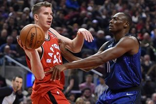 Raptors bury Magic under onslaught of 3-pointers