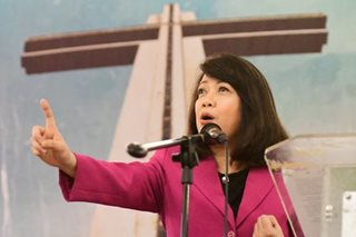 Sereno jokes: 'Exorcise' demons at the Supreme Court