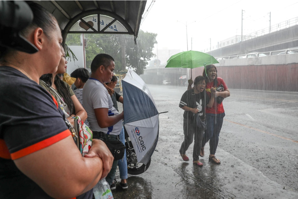 Marilyn threatens Luzon, Visayas with heavy rains