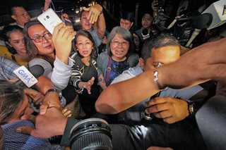 SC ends oral arguments on quo warranto plea vs Sereno