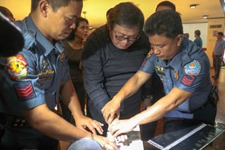 Wally Sombero surrenders to PNP