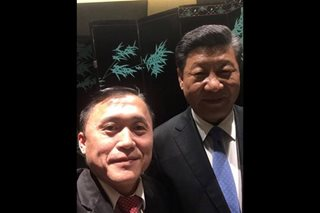 LOOK, GO-XI: Bong Go takes selfie with China's Xi