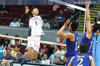 NU earns breakthrough win over Ateneo, claims No. 1 seed