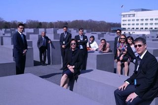 'No excuses': Robredo says sorry for posing in Holocaust Memorial