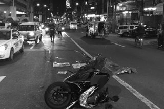 1 patay, 1 sugatan sa hit-and-run sa QC