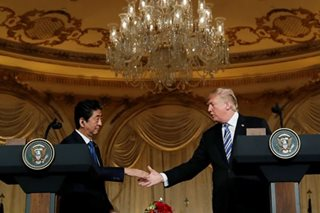 Trump, Japan's Abe agree to intensify trade talks