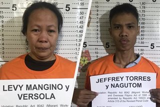 2 alleged illegal recruiters arrested in Pasay