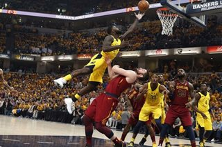 NBA: Pacers come back from 17-point deficit, edge Cavs to take 2-1 lead