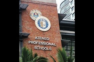 Ateneo Law School suspends classes over bomb threat