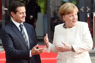 Merkel, Mexican president hail benefits of free trade