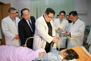 N.Korean leader visits China embassy, hospital after fatal bus crash