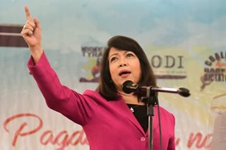 Sereno decries 'selective targeting,' warns vs. one-man rule