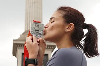 WATCH: Anne Curtis recalls finishing London Marathon -- the hottest on record