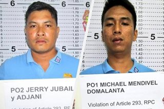 2 Pasay cops nabbed over alleged extortion