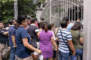 Huling araw ng bar exams, dinumog ng mga tagasuporta ng mga nagsusulit
