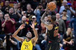 LeBron's buzzer-beater gives Cavs 3-2 edge on Pacers