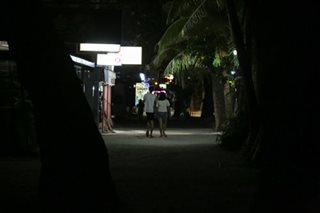 Boracay in the dark