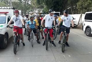 European envoys start 3-day bike across Palawan for climate change awareness