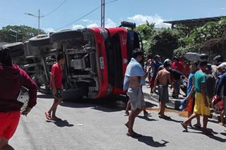 3 dead in truck-tricycle collision