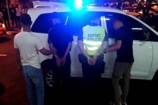 2 airport police, arestado sa pangingikil