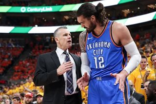 Thunder GM says Donovan staying on as coach