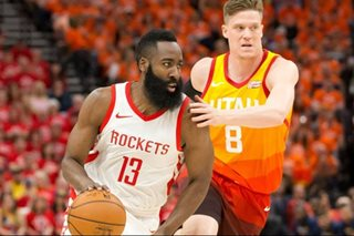 NBA: Rockets torch Jazz, 113-92, for 2-1 series lead
