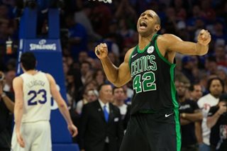 Horford hauls Celts past Sixers in OT for 3-0 lead