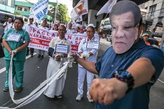 PH health workers push for pay hike
