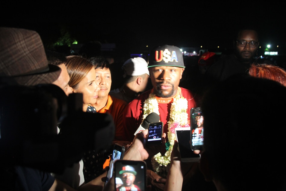 Floyd Mayweather coming to Manila