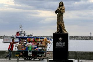 'Comfort woman' statue may no longer be returned to Roxas Blvd.
