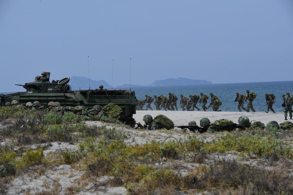 Philippine and US marines via AFP/File