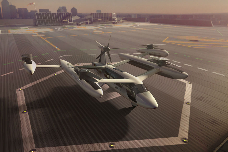 Flying cars get Uber boost from research pact with NASA
