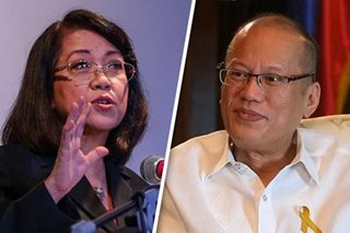 On eve of Sereno vote, Aquino and lawmakers call on 'rule of law to prevail'
