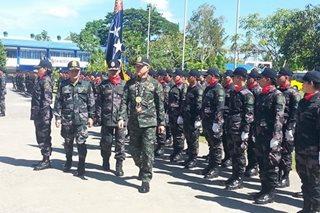 Albayalde checks police readiness for barangay, SK elections