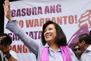 House held SC budget 'hostage' during impeachment hearings, says Sereno