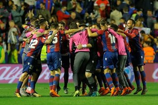 Barcelona's unbeaten season ended by five-star Levante