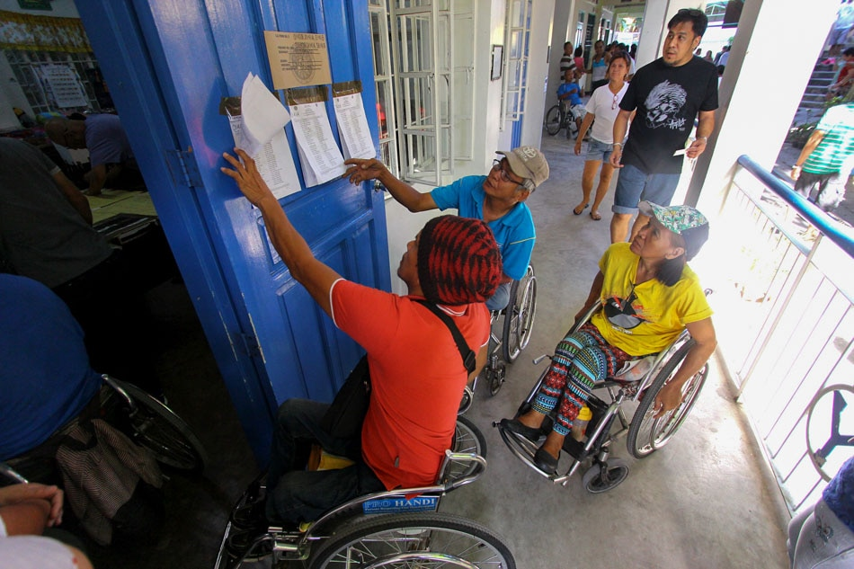 PWDs participate in the elections despite challenge
