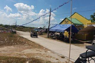 LOOK: Pampanga town poll precinct opens 27 years after Pinatubo eruption