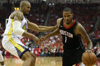 Role (player) reversal: Rockets even West finals