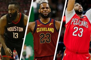 Harden, James, Anthony Davis named MVP finalists