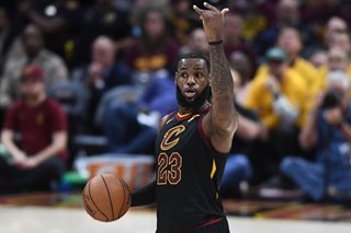 NBA: LeBron scores 44 as Cavs even series with Celtics