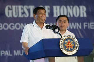 Duterte will certify BBL as urgent - Palace