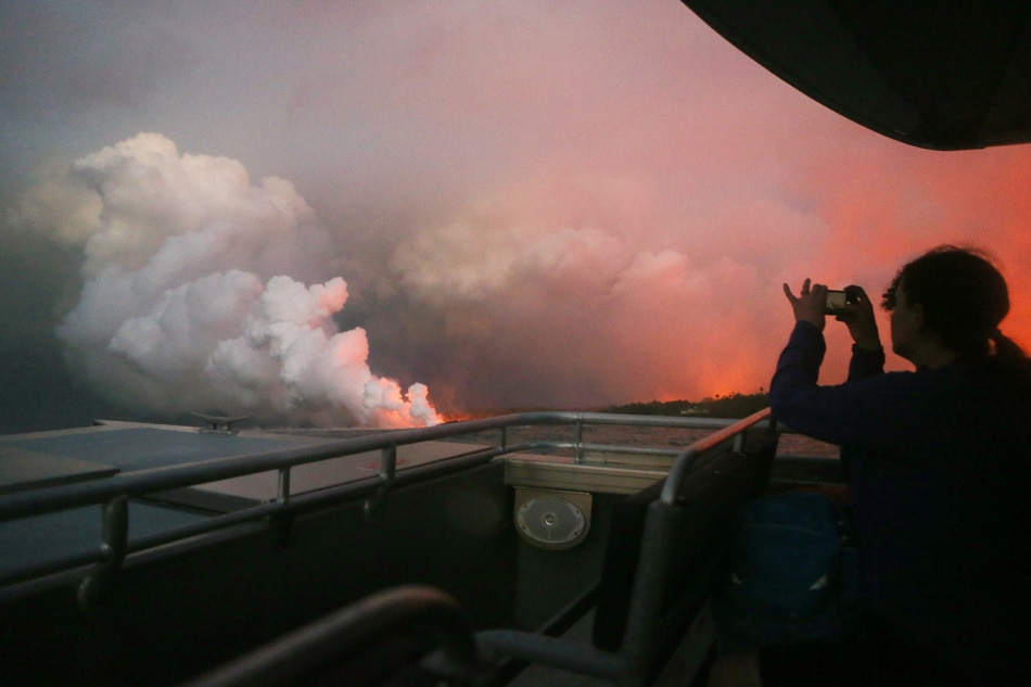 Time lapse from Hawaii observatory shows eruptions at Kilauea