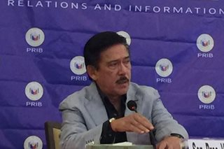 Sotto: Senate resolution opposing Sereno ouster up for debates