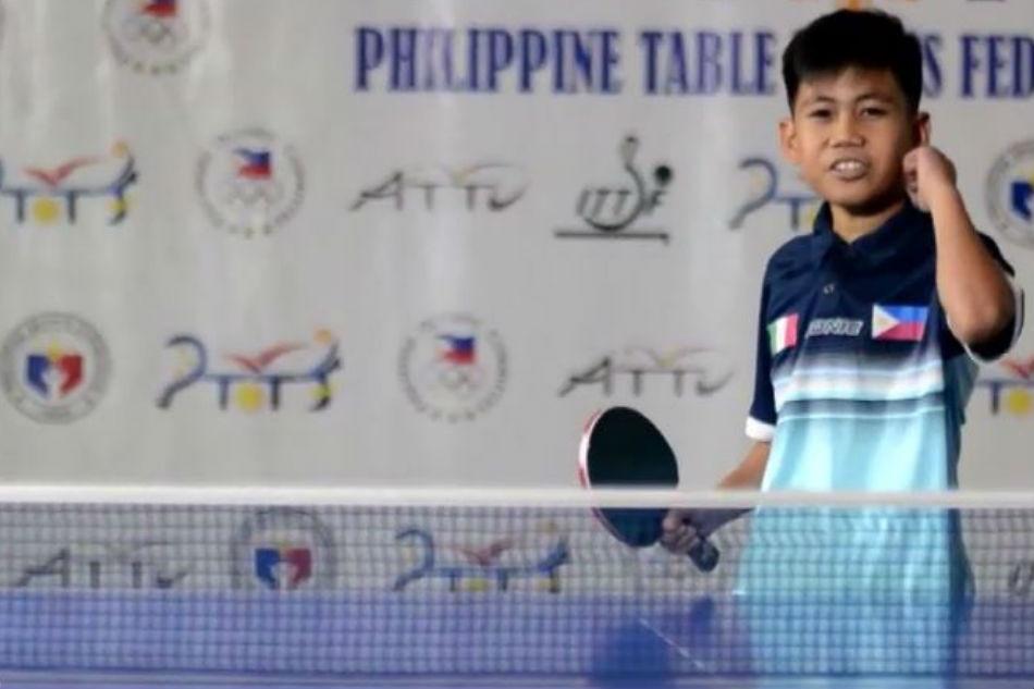 WATCH: Nueva Ecija boy making waves in table tennis