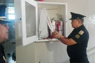 BFP inspects dormitories and apartments in Zamboanga City