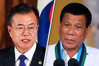 Duterte to visit South Korea in June for summit with President Moon