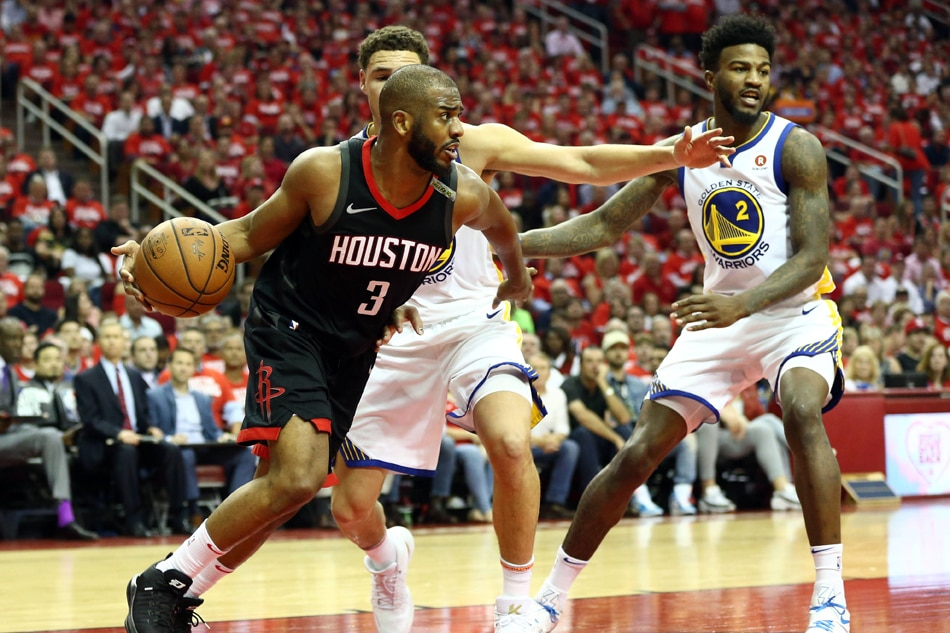 NBA: Rockets' injured Chris Paul an unknown for Game 7