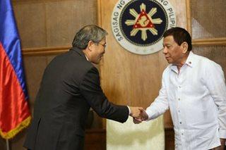 Duterte meets S. Korean envoy ahead of Seoul visit