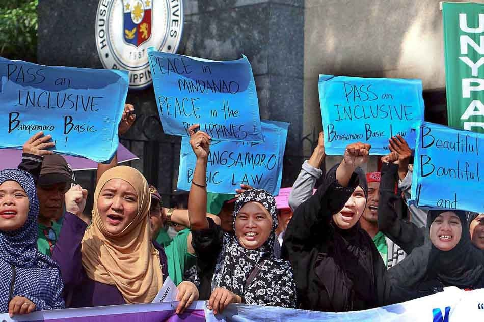 Senate House Approve Proposed Bangsamoro Basic Law Abs Cbn News